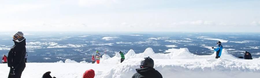 Lapland Finland ski