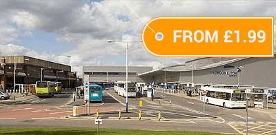 Bus to London Luton from Just €2