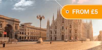 Bus to Milan to City Centre from Just £5